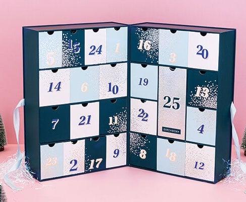 Contenu et code promo calendrier de l'avent beauté 2019 Birchbox