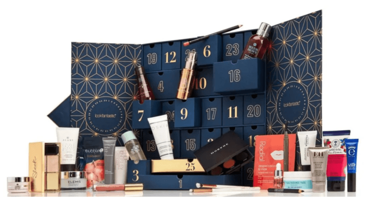 spoil-contenu-calendrier-avent-lookfantastic-code-promo-2019