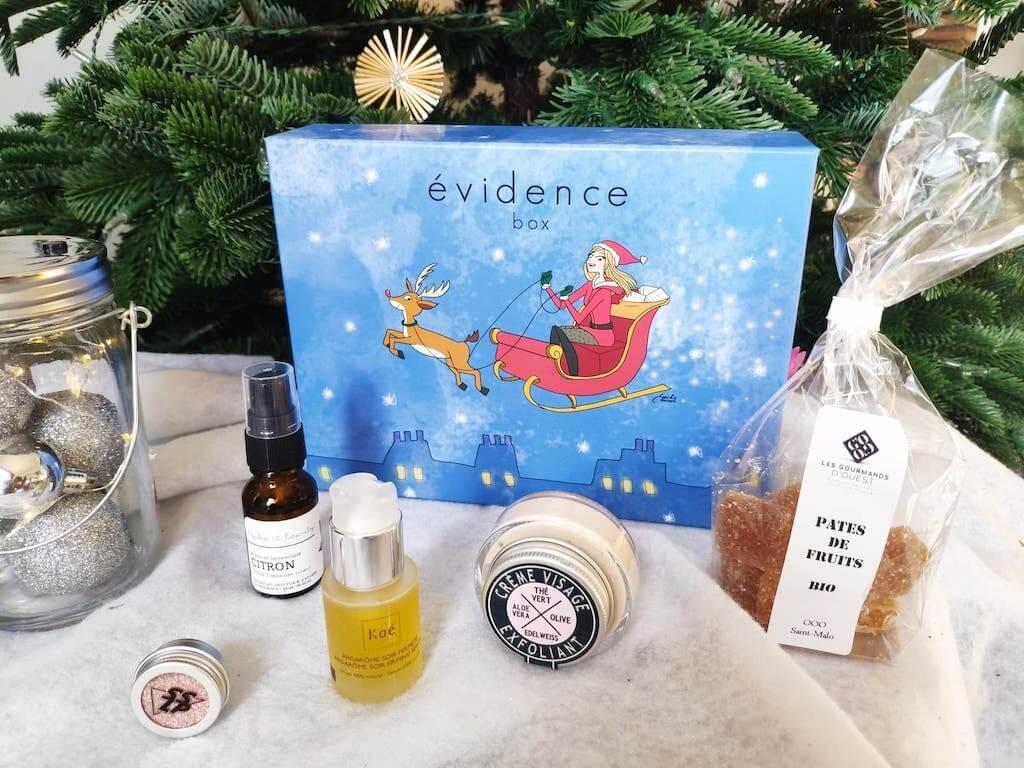 Evidence Box Bio decembre 2020 avis contenu