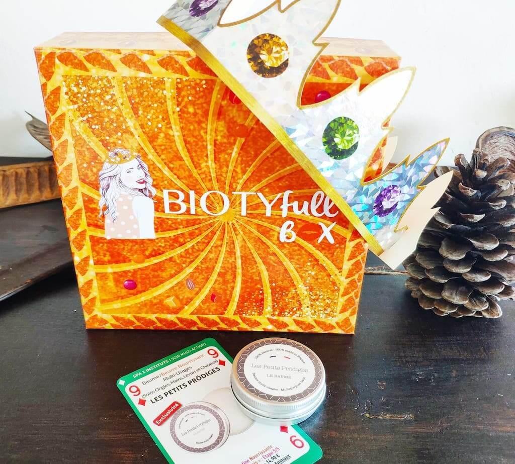 Biotyfull Box Janvier 2021 avis contenu code promo