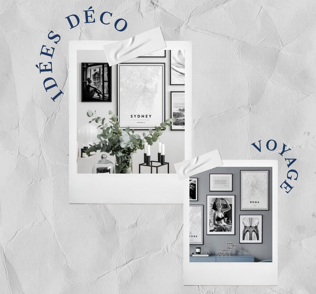 idees deco voyage poster store code promo