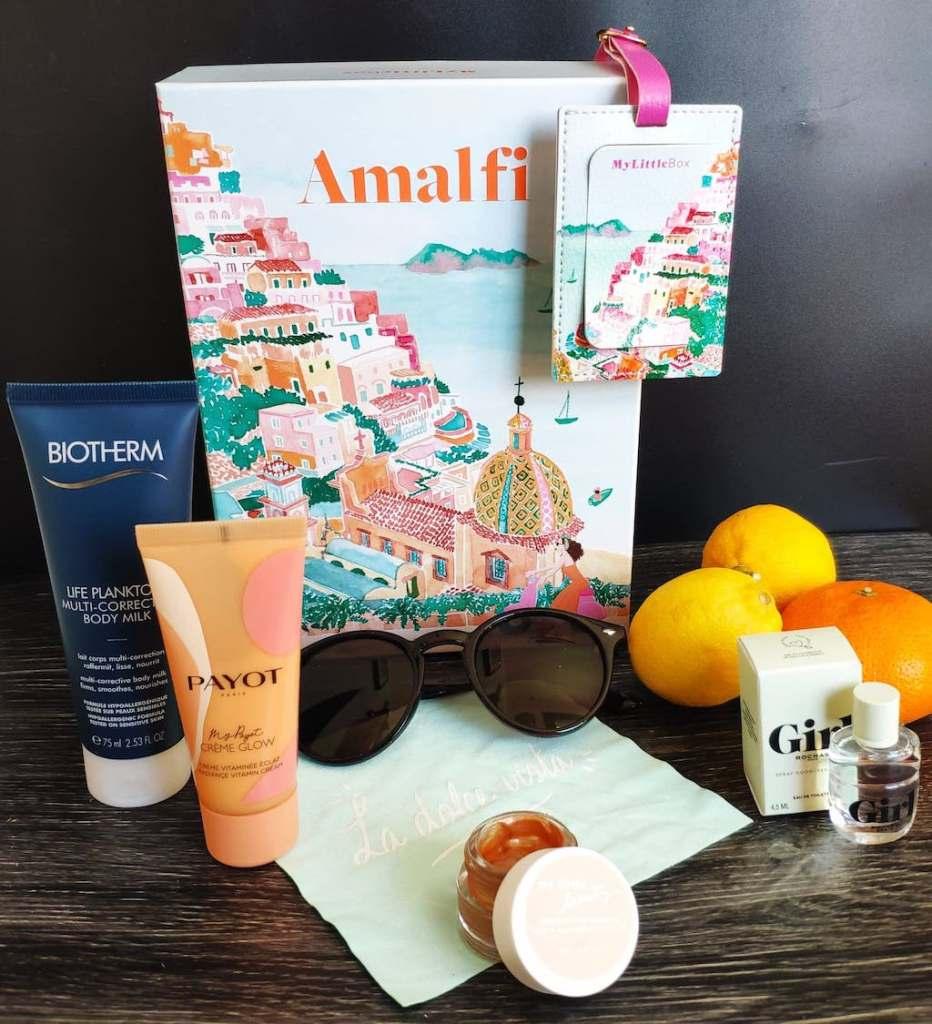 Spoiler My Little Box Avril 2021 Amalfi Contenu Code Promo 5€