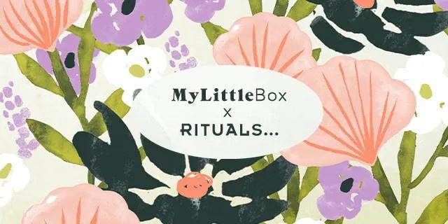 Spoiler contenu My Little Box Mai 2021 Rituals + code promo 5€