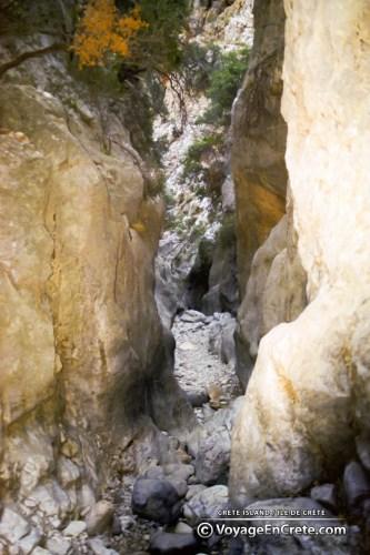 Randonnée en Crète : Gorges de Krista