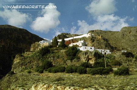 Randonnées en Crète : les gorges de Moni Kapsa