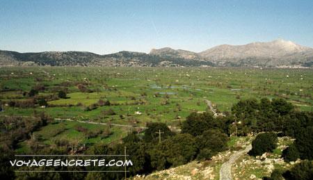 Randonnées En Crète : le plateau du Lassithi