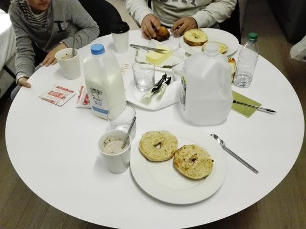 petit déjeuner q&a hôtel