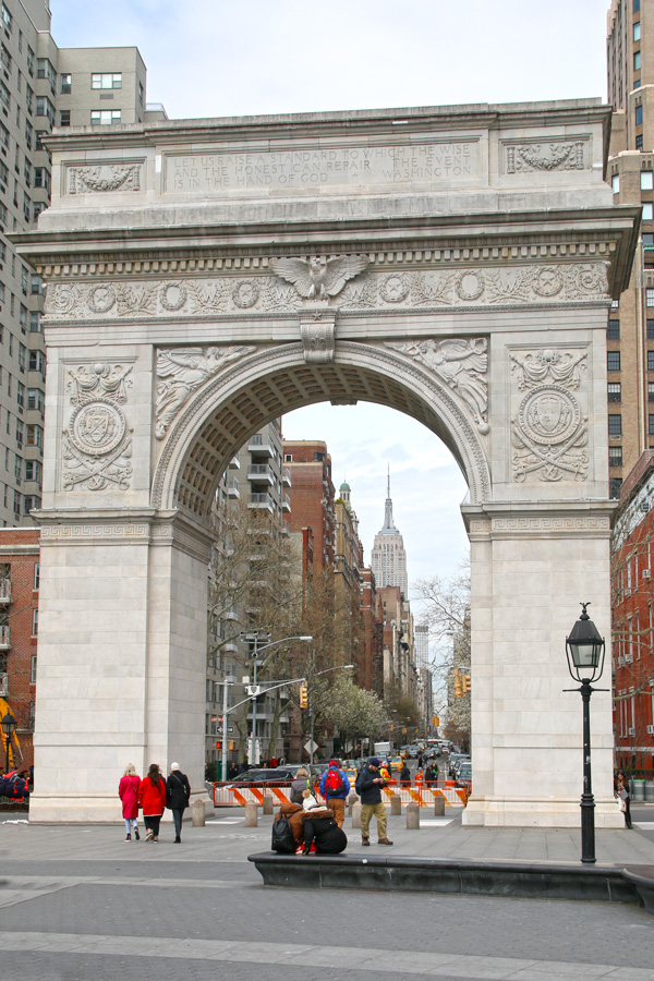 points de vue washington square