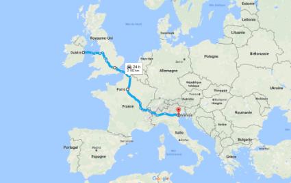 Itinéraire roadtrip en europe
