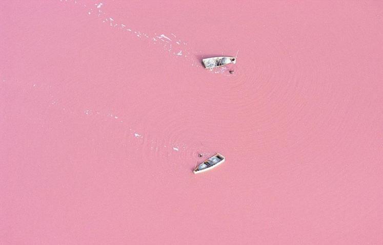 12. Lake Retba - Senegal