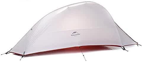 PU 4000mm Tapis de Sol Offert 2 Personnes Tente Ultra l/ég/ère 2,15 kg Imperm/éable et Resistante Au Vent pour 4 Saison Terra Hiker Tente de Camping