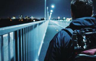 Sur l'estacade du Pont Champlain – Photo: Émile Gauthier (@emilegauthier sur Instagram)