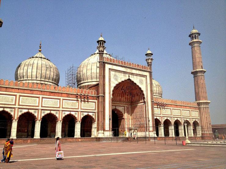 jama masjid exterior