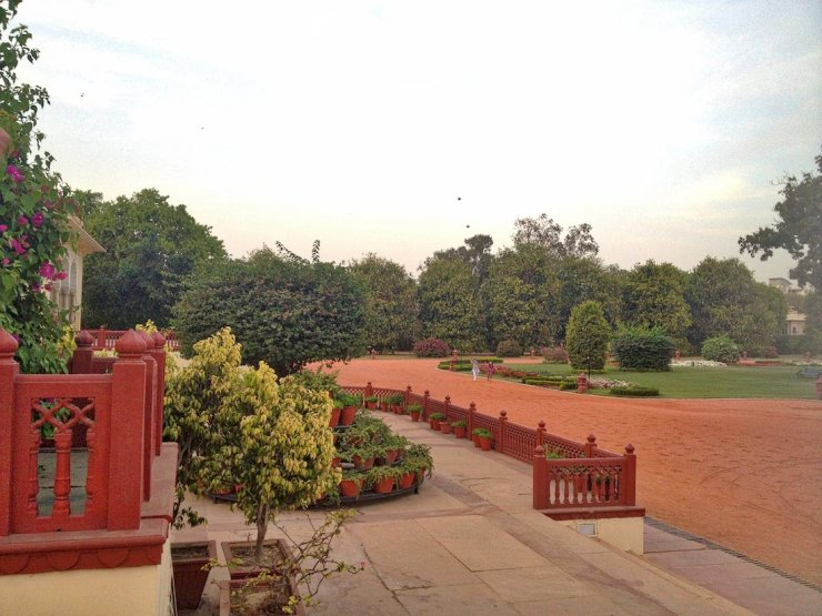 rambagh palace garden