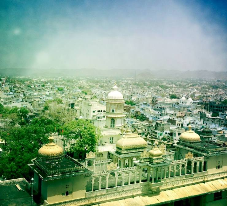 City Palace Udaipur view