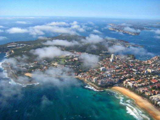 sydney aerial manly