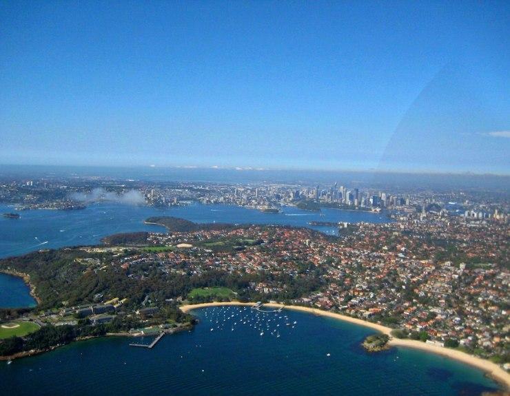 sydney aerial balmoral