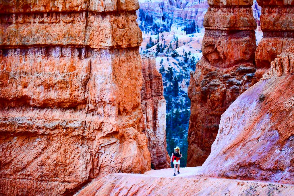 Diann at Bryce Canyon National Park, Utah - 05/2013.