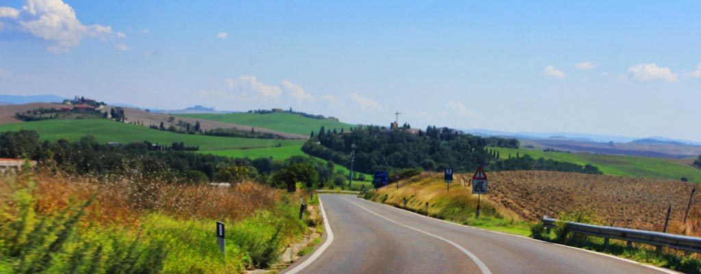 Road to Chianti, Via Chiantigiana, Tuscany, Italy - Taken by Diann Corbett, 09/2015.