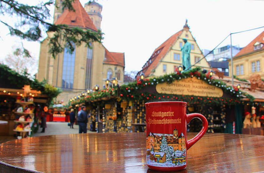 Gluwein, Stuttgart, Germany Christmas Market, taken by Diann Corbett, 12/2014.