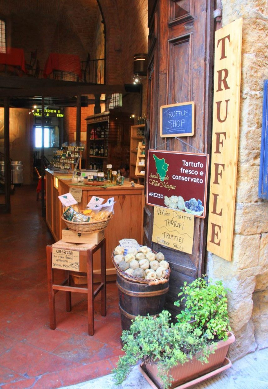 Truffle Shop, Italy - Taken by Diann Corbett, 09/2015.