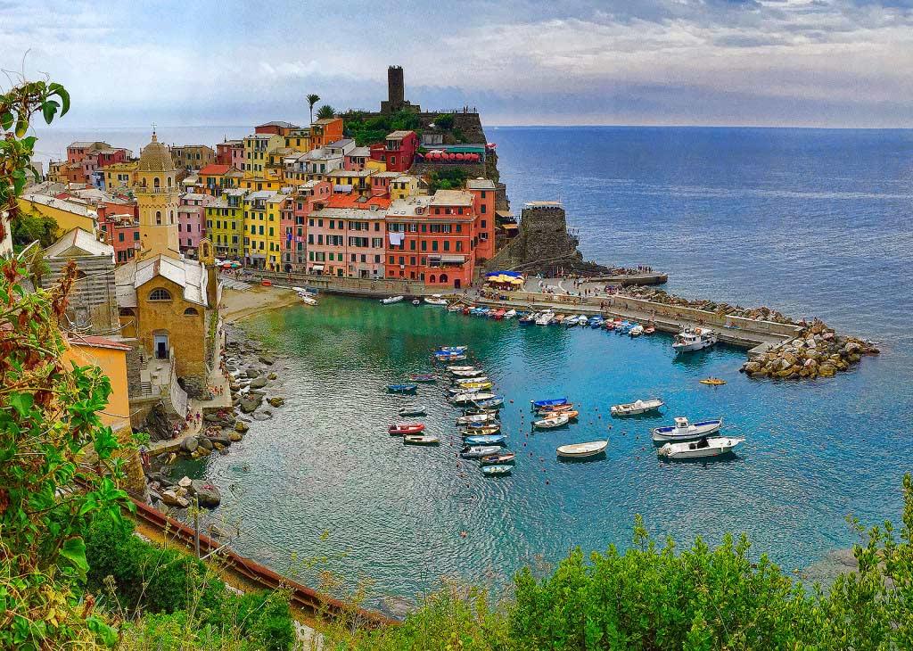 Vernazza, Cinque Terre, taken by Diann Corbett, 09/2015