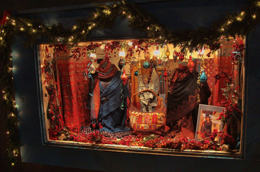 Clothing Store Display, Sante Fe, NM - Taken by Diann Corbett, 11/2015.
