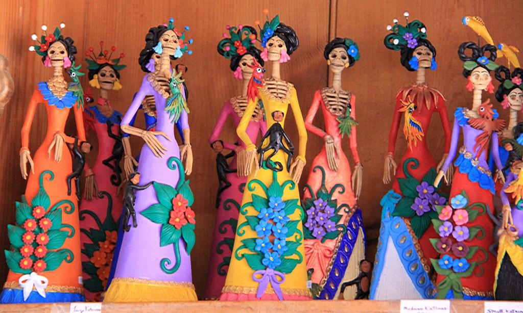 Day of the Dead Dolls, Sante Fe, NM - Taken by Diann Corbett