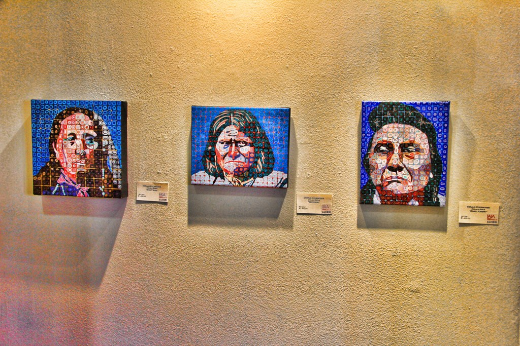 Museum of Contemporary Native Art, Sante Fe, NM, 11/2015.