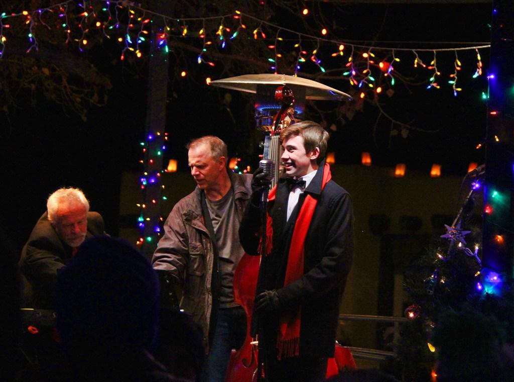 Jazz Trio, Sante Fe, NM - taken by Diann Corbett