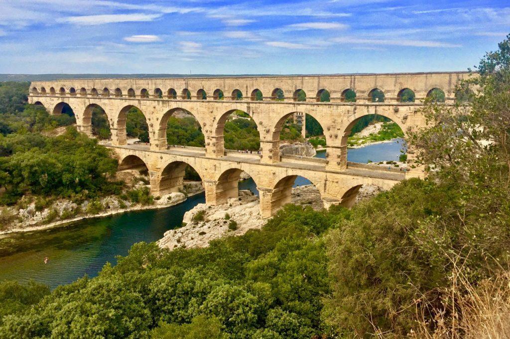 Pont de Gard, Roman Aqueduct near Avignon
