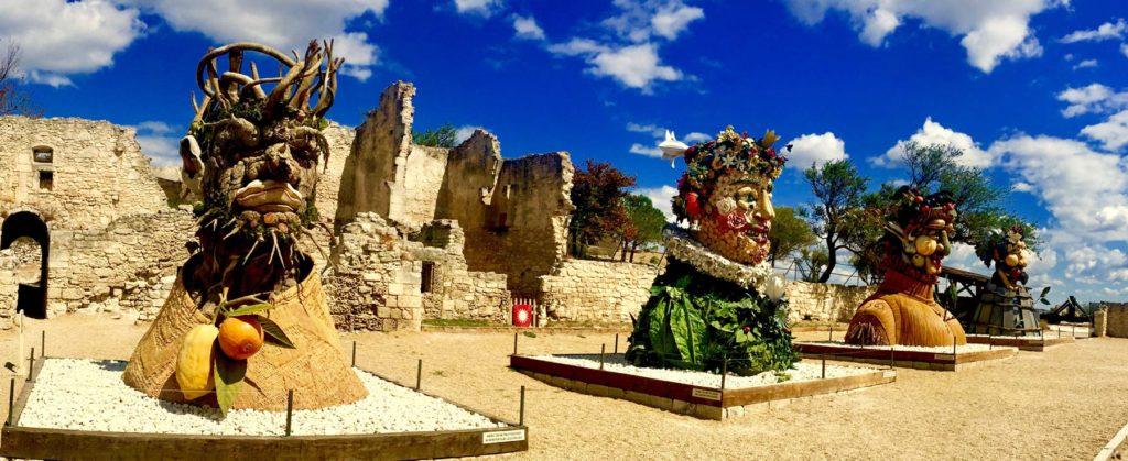 Four Season Sculpture by Haas, Les Baux de Provence