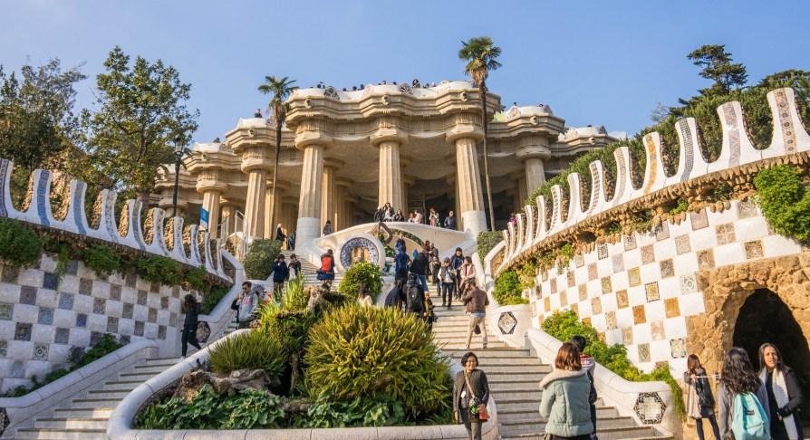 gaudi parc barcelone