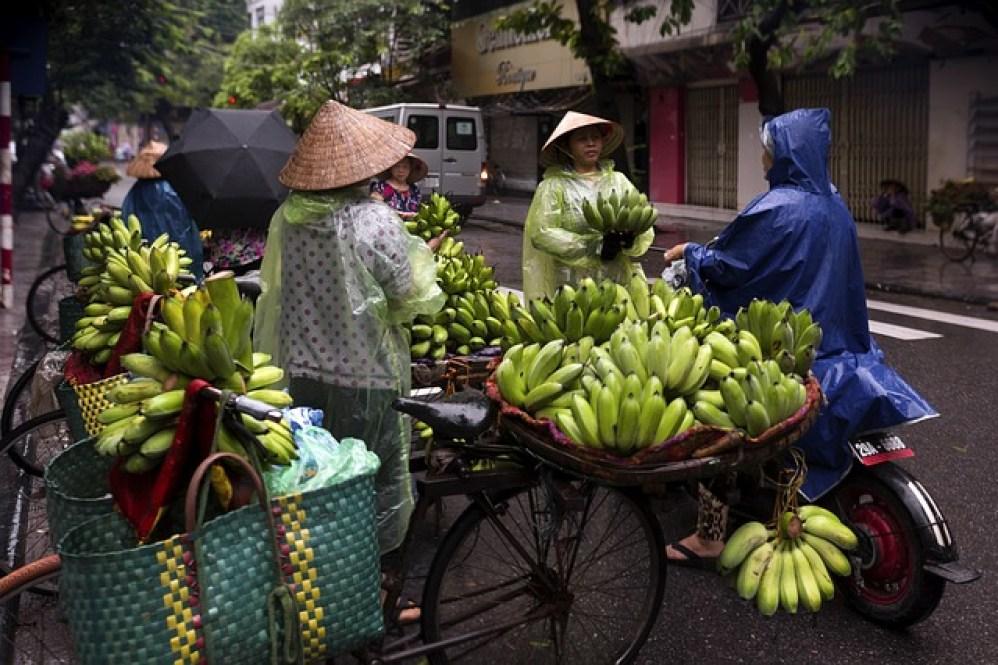vol allez retour shopping à Hanoï