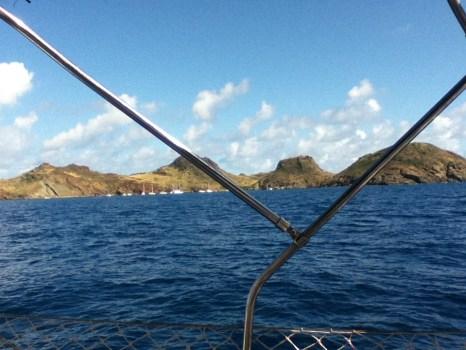 12 - Sail to St Barts