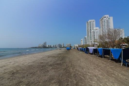 Castillo Grande beach