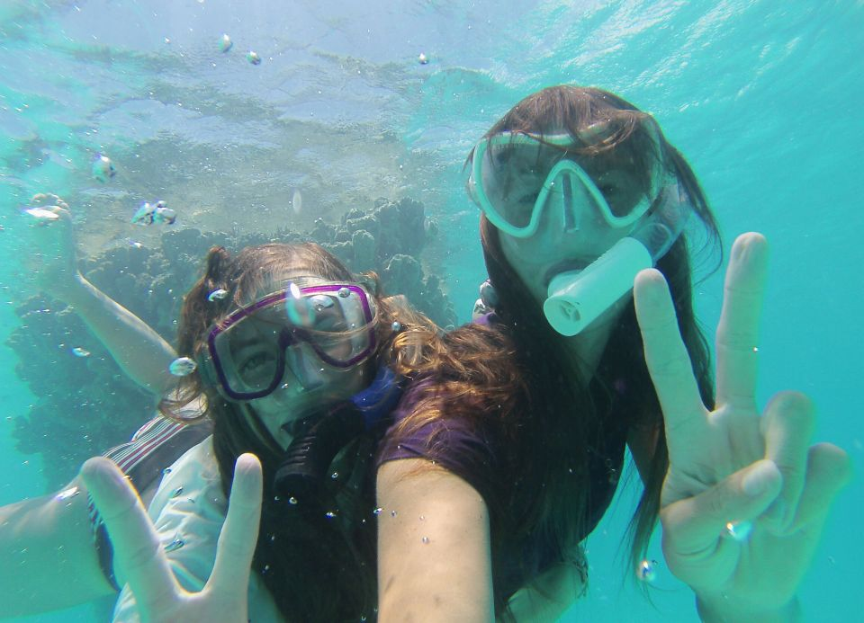 Charline and I having fun with my new GoPro