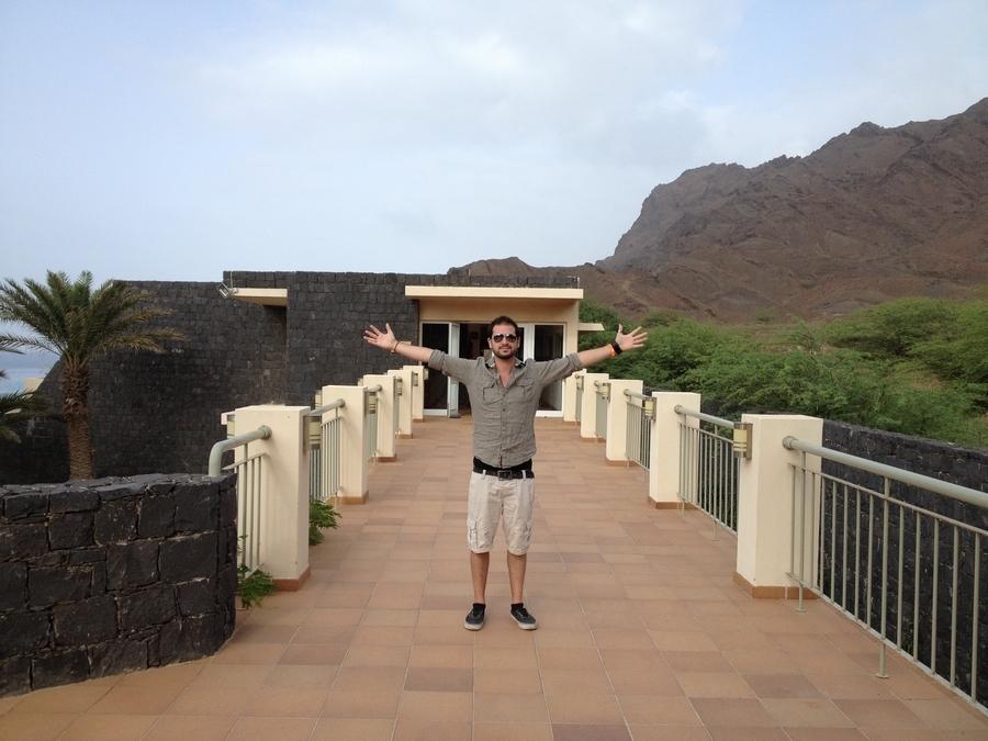 Path leading to the rooms - Foya Branca Hotel , São Vicente, Cape Verde