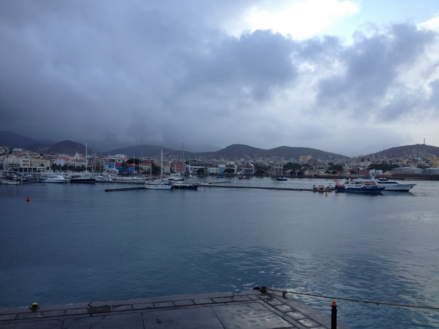 Harbour of Mindelo - São Vicente, Cape Verde