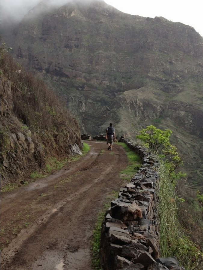Taking a stroll nearby Ponta do Sol - Santo Antão, Cape Verde