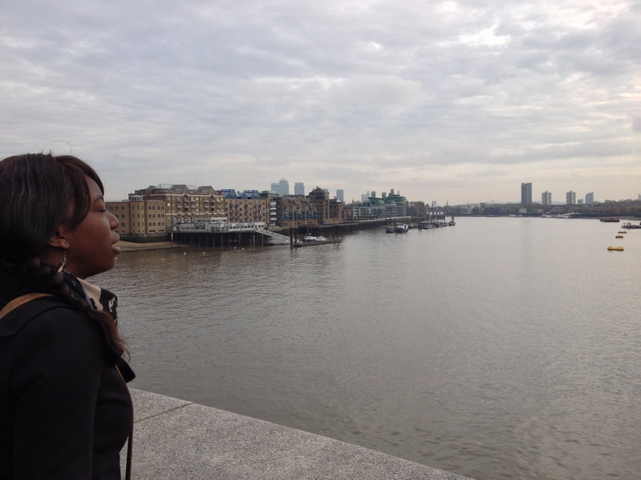 Nath on the London Bridge - London, England