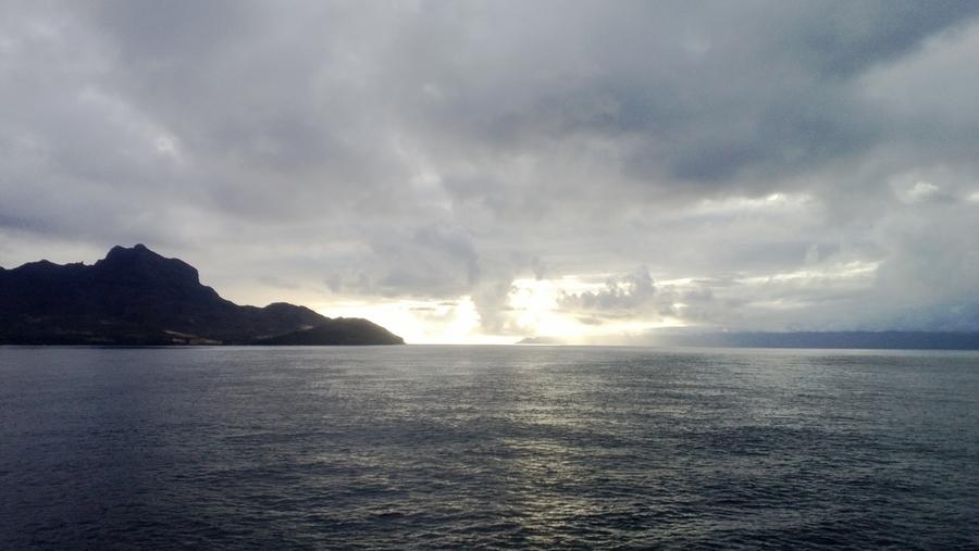 Vue sur l'océan - São Vicente, Cap-Vert