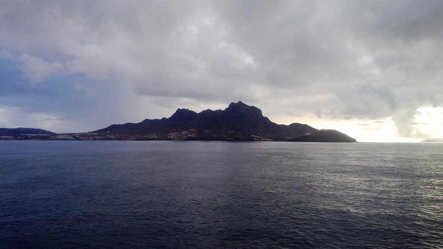 View on the ocean - São Vicente, Cape Verde
