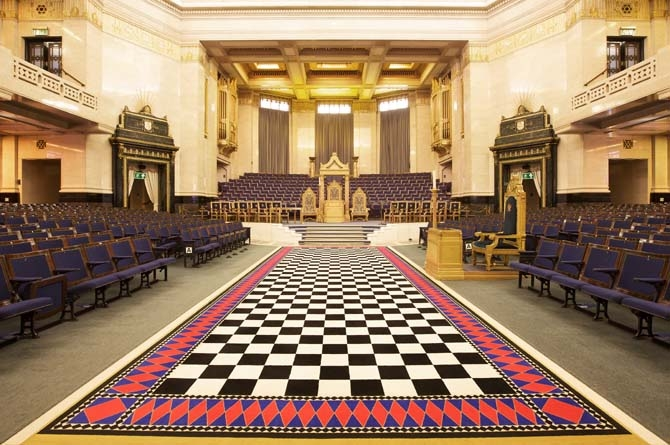 Freemason's hall - Grande salle