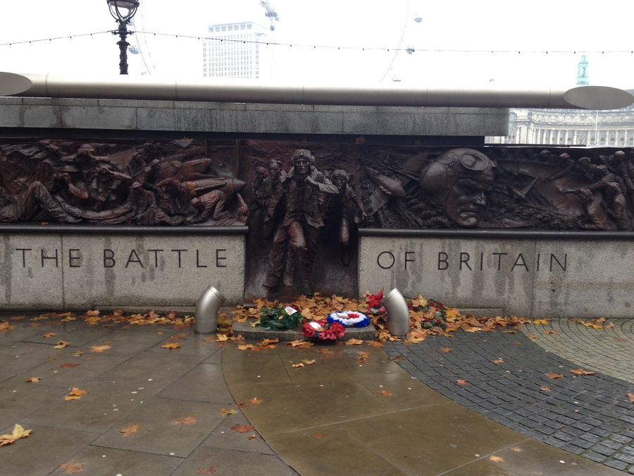 Memorial for World War I - London, England
