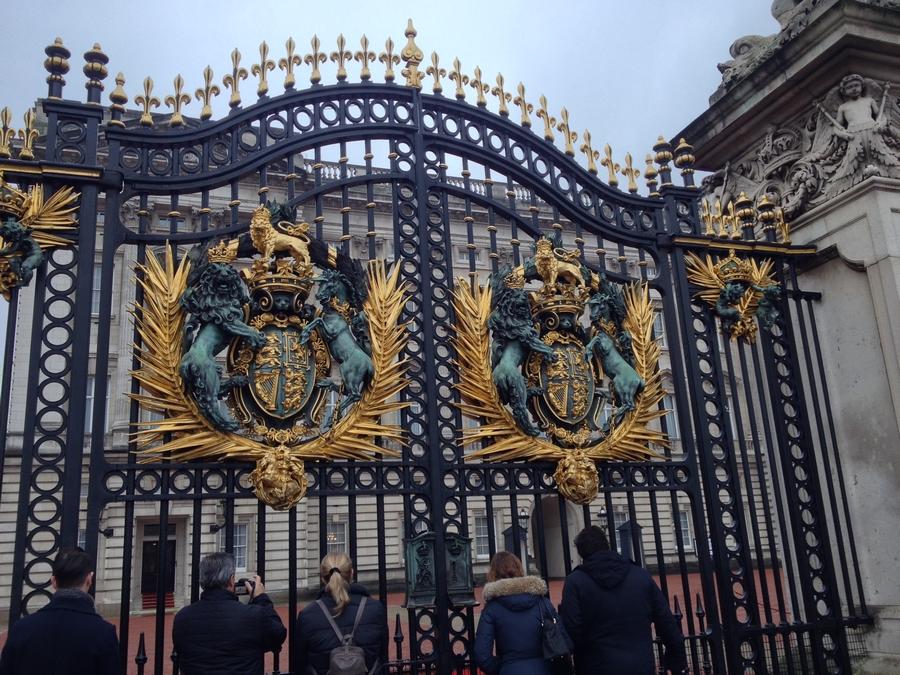 Grilles de Buckingham Palace - Londres, Angleterre