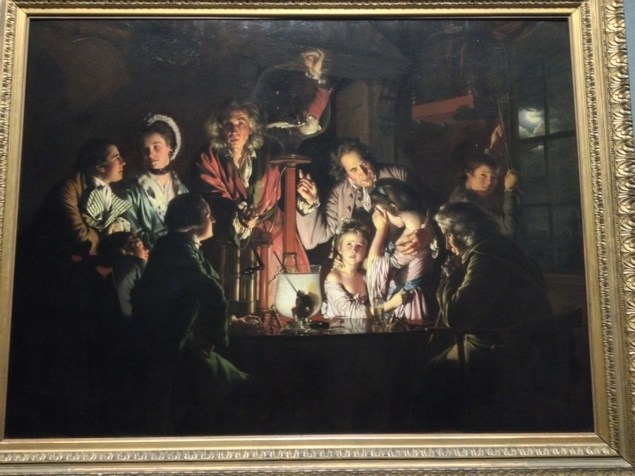"""An Experiment on a Bird in the Air Pump"" by Joseph Wright de Derby - National Gallery, London, England"