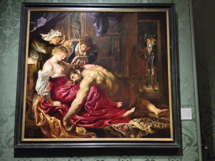 """Samson and Delilah"" by Peter Paul Rubens - National Gallery, London, England"