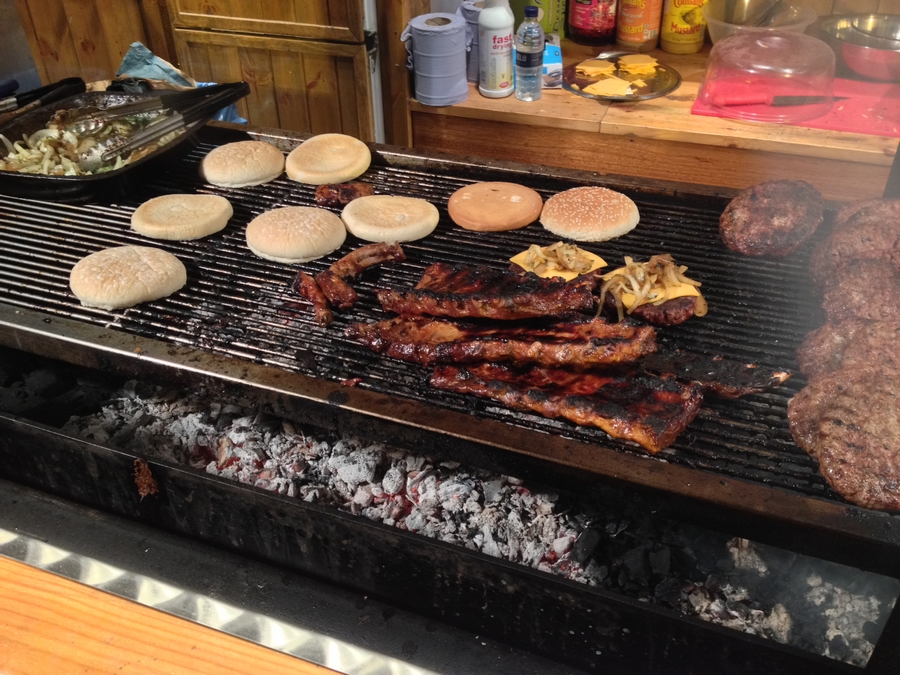 Burgers au barbecue! - Londres, Angleterre