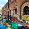 Marché de Brick Lane - Londres, Angleterre
